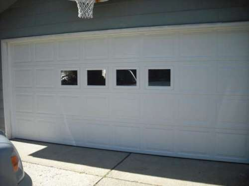 Image Of Colonial Style Garage Door Installed In Chardon Ohio (Geauga  County).