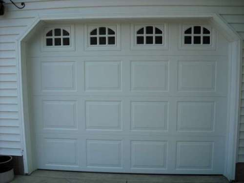 Image Of 9100 Colonial Style Garage Door Installed In Munson Ohio (Geauga  County).